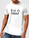 Camiseta  Love Is (Colour) Blind  - Hombre - Blanco - S - Blanco