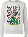 Sweat Femme Super Mario Piranha Plant Japanese - Nintendo - Blanc - XL - Blanc