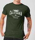 Camiseta Native Shore California - Hombre - Verde oscuro - L - Forest Green