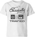 Camiseta Nintendo NES Retro Classically Trained - Niño - Blanco - 5-6 años - Blanco