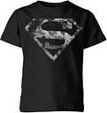 Camiseta DC Comics Superman Logo Mármol - Niño - Negro - 7-8 años - Negro