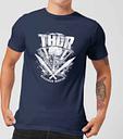 Camiseta Marvel Thor Ragnarok Martillo de Thor - Hombre - Azul marino - M - azul marino