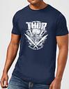 Camiseta Marvel Thor Ragnarok Martillo de Thor - Hombre - Azul marino - S - azul marino