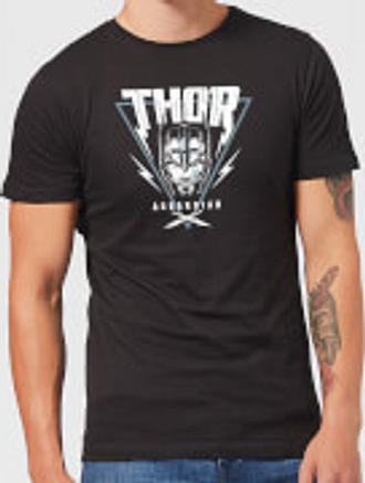 T-Shirt Homme Marvel - Thor Ragnarok - Triangle Asgardien - Noir - XL - Noir
