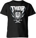 T-Shirt Marvel Thor Ragnarok Asgardian Triangle - Nero - Bambini - 9-10 Anni - Nero