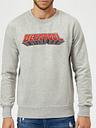 Sudadera Marvel Deadpool Logo - Hombre - Gris - M - Gris