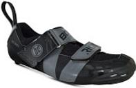 Bont Riot TR+ Road Shoes - EU 40.5 - Black/Grey