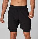 Pantalón Corto Doble Capa Power - Negro - XL