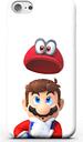 Funda Móvil Nintendo Super Mario Odyssey Mario And Cappy para iPhone y Android - Samsung S6 Edge Plus - Carcasa rígida - Brillante