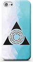 Coque Smartphone Azorius Fractal - Magic : L'Assemblée pour iPhone et Android - iPhone 8 Plus - Coque Double Épaisseur Matte