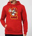 Nintendo Super Mario Mario Kanji Hoodie - Red - M - Rouge