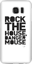 Coque Smartphone Rock The House - Danger Mouse pour iPhone et Android - Samsung S6 - Coque Simple Vernie