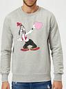 Felpa Disney Pippo Love Heart - Grigio - XXL - Grigio