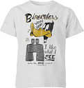 Looney Tunes ACME Binoculars Kids' T-Shirt - Grey - 7-8 ans - Gris