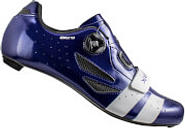 Lake CX218 Carbon Road Shoes - Navy Blue/White - EU 42