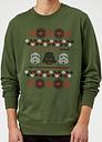 Star Wars Empire Weihnachtspullover - Grün - XXL