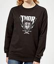 Marvel Thor Ragnarok Asgardian Triangle Damen Pullover - Schwarz - XS - Schwarz