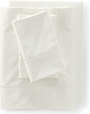 Supima Cotton No Iron Sateen Pillowcases - 400 Thread Count - Lands' End - Ivory - K