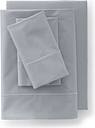 Supima Cotton No Iron Sateen Sheets - 400 Thread Count - Lands' End - Gray - F