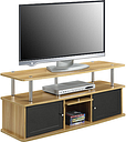 Patrick Entertainment Center, One Size , Brown