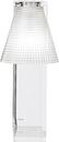 Light-Air Tischleuchte / Lampenschirm aus Kunststoff - Kartell - Transparent