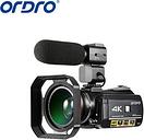 ORDRO AC3 4K camera 1080P wifi digital video camera night vision professional Camcorder 4K camera 4K
