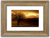 'Yorkshire Dales After the Storm' Framed Photographic Print East Urban Home Size: 93 cm H x 70 cm W, Frame Options: Teak Woodgrain