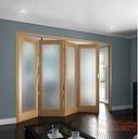 Glass Prehung Bi-Fold Door Curated by Jeld Wen Door Size: 204.7cm H x 284.9cm W x 9.2cm D