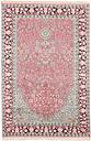 Handwoven Pink/Grey Rug Carpetfine