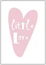 'Little Love Heart' Graphic Art East Urban Home Format: No Frame, Size: 30 cm H x 21 cm W x 1 cm D