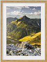 Mountains and Valley of the Lechtal Alps in Tyrol Framed Photographic Art Print East Urban Home Size: 40 cm H x 30 cm B, Rahmenoptionen: Naturbelassen