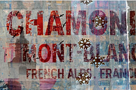 'French Alps' by  Textual Art on Wrapped Canvas East Urban Home