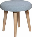Shetland Dressing Table Stool MONKEY MACHINE Colour: Blue
