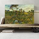 'Sunset at Montmajour' by Vincent van Gogh Painting Print on Canvas Big Box Art Size: 50cm H x 76cm W