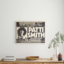 'Patti Smith and the Stranglers' Graphic Art Borough Wharf Format: Wrapped Canvas, Size: 30.1cm H x 40cm W x 3.8cm D