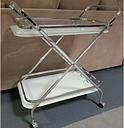 Jeniffer Serving Cart Ebern Designs