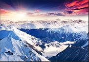 Magnificent Alps 2.45m x 350cm Wallpaper
