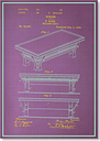 Billiard Table by Blue Print Images Graphic Art Americanflat