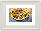 'Still Life with Potatoes' by Vincent Van Gogh Framed Photographic Print