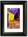 'Vincent Van Gogh Terrace of the Cafe Cornwall' Framed Photographic Print