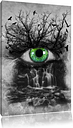 Eye Connected to Beautiful Nature Graphic Art Print on Canvas East Urban Home Size: 100 cm H x 70 cm W