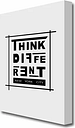 'Think Different' Textual Art Print on Canvas East Urban Home Size: 142.2 cm H x 101.6 cm W