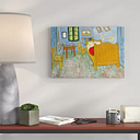 'The Bedroom' by Vincent Van Gogh - Wrapped Canvas Painting Print East Urban Home Size: 35cm H x 50cm W