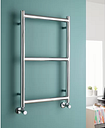 Vertical Traditional Towel Rail Belfry Heating Finish: Chrome, Size: 80cm H x 50cm W x 10cm D, Heat Type: Central Heating