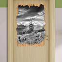 Crocuses in a Meadow in the Alps Wall Sticker East Urban Home