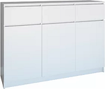 Pauletta 3 Drawer Combi Chest Metro Lane