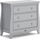 Sleigh 3 Drawer Chest Boori