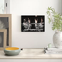'Body Building Fitness Weights 2' Graphic Art on Wrapped Canvas East Urban Home Size: 40cm H x 60cm W