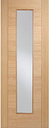 Vancouver Long Light Solid MDF Glass Internal Door LPD Doors Door Size: 198.1cm H x 68.6cm W x 3.5cm D