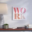 Love Work Havana - Wrapped Canvas Typography Print East Urban Home Size: 109cm H x 109cm W x 5cm D